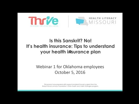 Tips on how to understand your health insurance plan