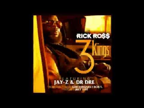 Rick Ross Ft Jay-Z & Dr. Dre -- 3 Kings (2012)