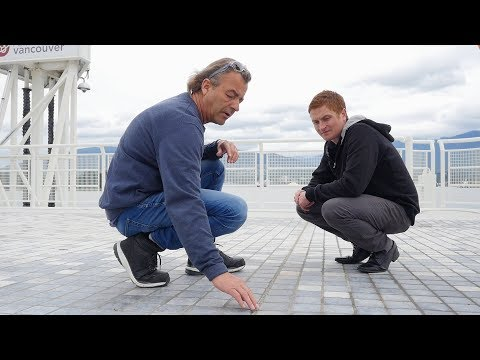 The World's Most Resilient Permeable Hardscapes - Canada Place Plaza Deck Resurfacing - Romex Canada