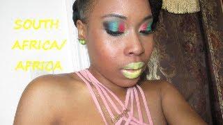 Makeup Tutorial: South Africa Thumbnail