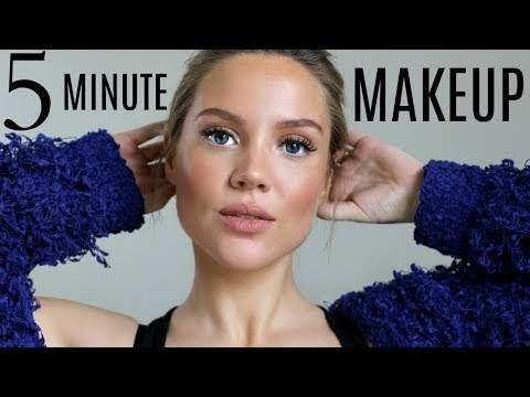 5 MINUTE MAKEUP | MOMMY MAKEUP TIPS | Elanna Pecherle