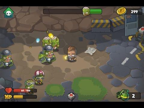 Флеш игра Wrath of Zombies
