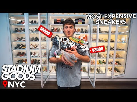 Buying The Dream Sneaker Collection: Stadium Goods NYC Edition