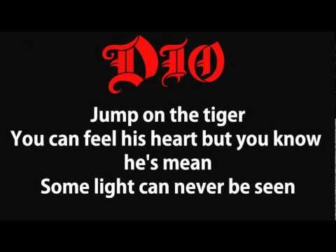 Dio Holy Diver (Lyrics) HQ music