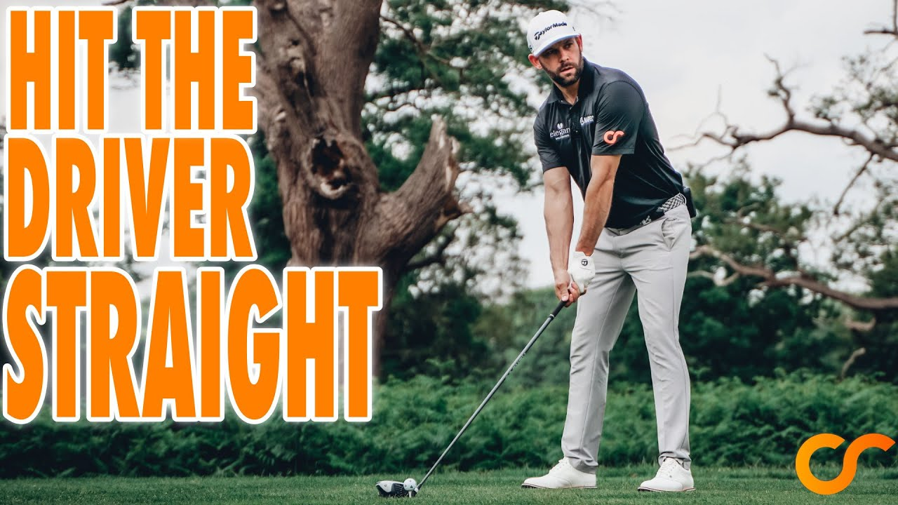 HOW TO HIT THE DRIVER DEAD STRAIGHT - 3 REALLY SIMPLE TIPS