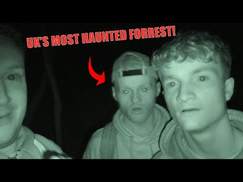 SPENDING THE NIGHT IN UK'S MOST HAUNTED FOREST