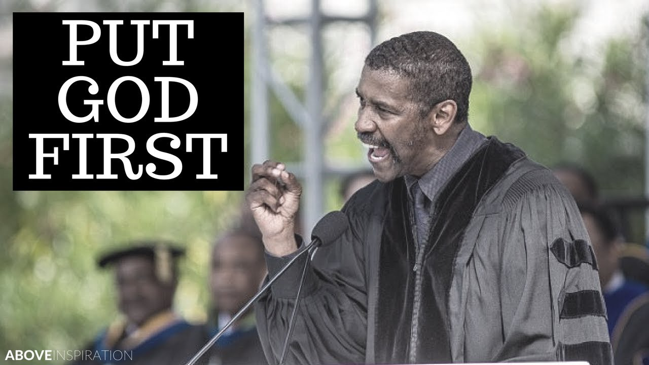 denzel washington graduation speech dillard university