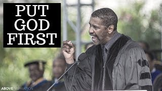 Put God First - Deฑzel Washington Motivational & Inspiring Commencement Speech