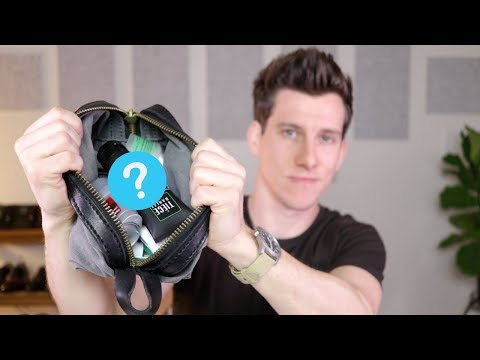 What's In My Dopp Kit? Travel Grooming Essentials for Men