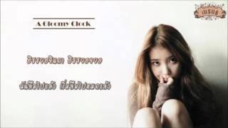 [Thai karaoke & Thai sub] IU - Gloomy Clock (우울시계) (Feat. JongHyun of SHINee)