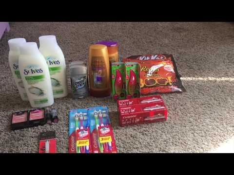 Cvs COUPONING HAUL 10/15/2017 - 10/21/2017...
