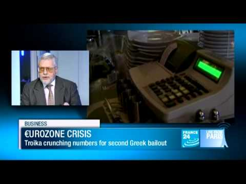BUSINESS - Eurozone crisis: Graham BISHOP, European Finance