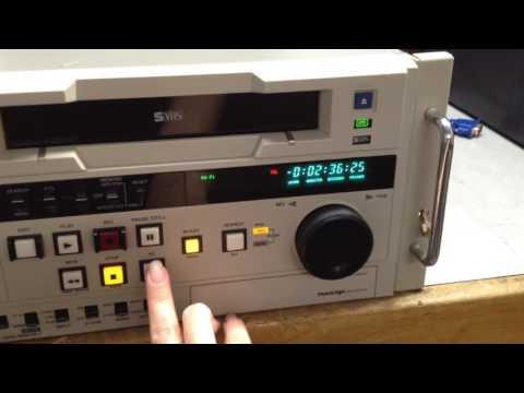 Panasonic AG-7750-P Professional Video Cassette Recorder SVHS