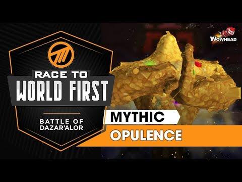 Method VS Opulence Treasure Guardian - Mythic Battle Of Dazar'alor