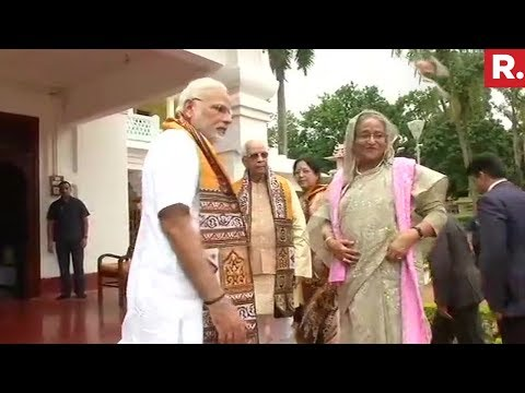 PM Modi Receives Bangladesh PM Sheikh Hasina | #ModiHasinaMeet