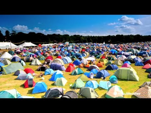 Music festival weather survival guide