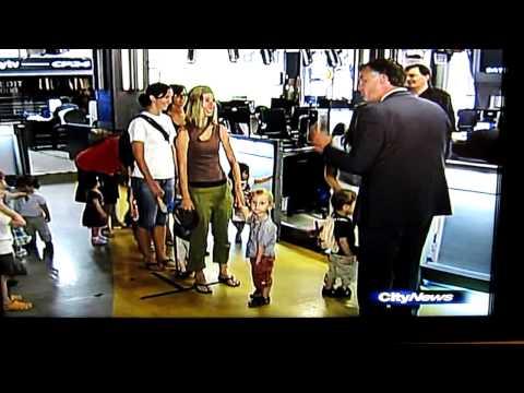 Westside Montessori School Trip to CityTV