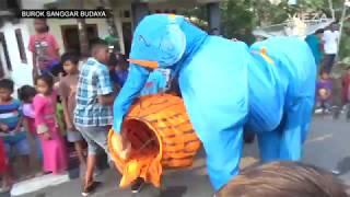 AKSI TARUNGAN ** BUROK SANGGAR BUDAYA SHOW PANANGGAPAN - BANJARHARJO 25 AGUSTUS 2018