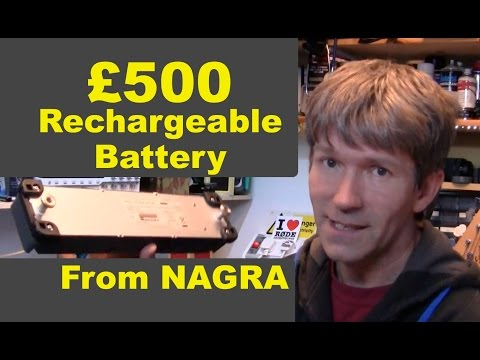 Whats inside A Nagra lithium battery power pack MF#70