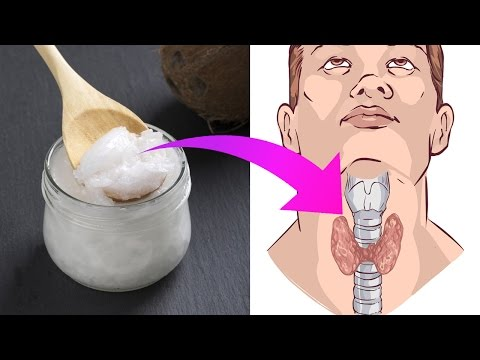6 Ways Coconut Oil Can Benefit Those With Thyroid Problems