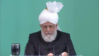 Cuma Hutbesi 29-04-2016 - Islam Ahmadiyya