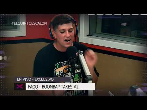 FAQQ - 'BOOMBAP TAKES #2' - El Quinto Escalon Radio (11/12/17)