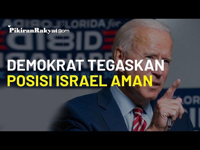 Israel Khawatir Kedudukan di Palestina Hilang jika Joe Biden Menang, Demokrat Tegaskan Tetap Aman