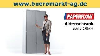 Aktenschrank Paperflow easy Office 110x104x41,5cm (BxHxT), schwarz