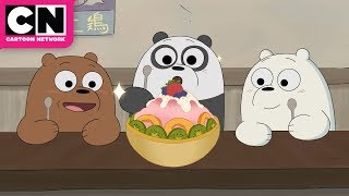 We Bare Bears | Baby Bears Try Ramen | Cartoon Network