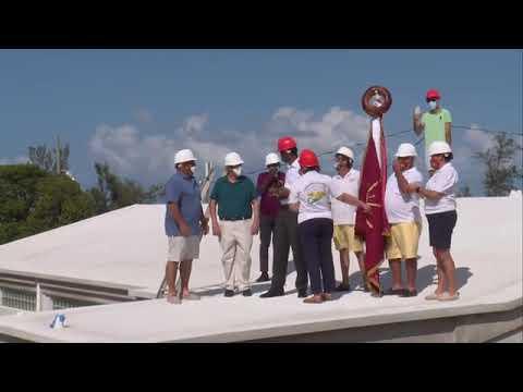 Casa dos Acores Community Centre Roof Wetting, Sept 25 2020