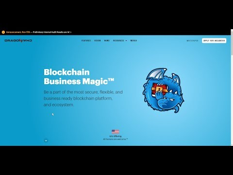 URGENT BUY! Disney's Own Gethub For Their Dragonchain Coin December 16th 2017