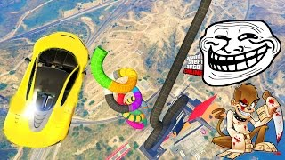 LA COURSE TROLL LA PLUS HARD DE LASALLE !  - GTA 5 ONLINE thumbnail