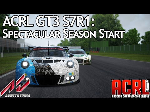 ACRL GT3 S7R1 Pro: Spectacular Season Start (911 GT3 R @ Imola)