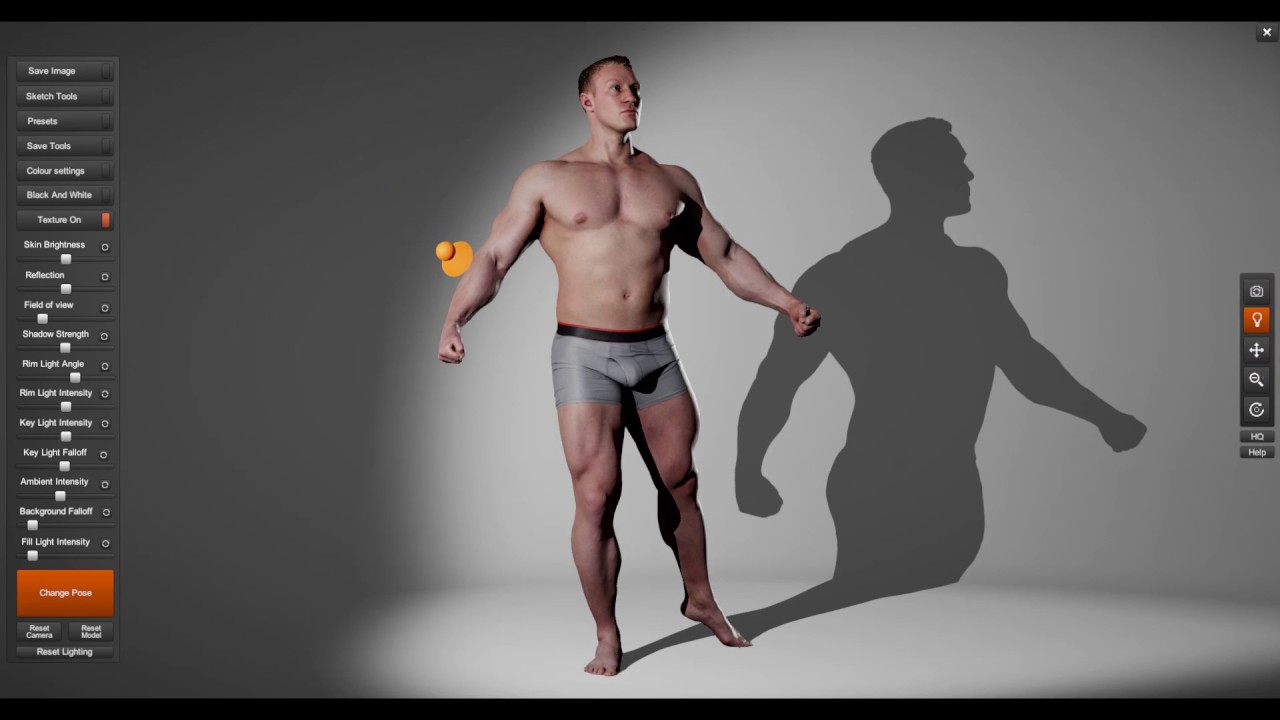 Anatomy 360 - 3D Scanned Reference For Artists - YouTube