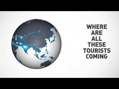 Dubai Tourism 2017 | Infographic Video