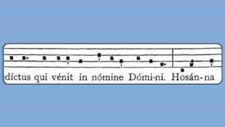 Sanctus XVIII (Weekdays in Advent & Lent)