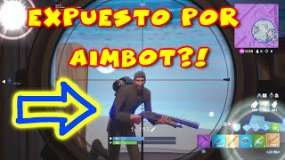 AIMBOT IN FORTNITE I WAS EXPOSED FOR USING AIMBOT IN FORTNITE PARTIES!