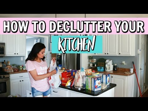 MAJOR KITCHEN PURGE | How To Declutter Your Entire Kitchen!