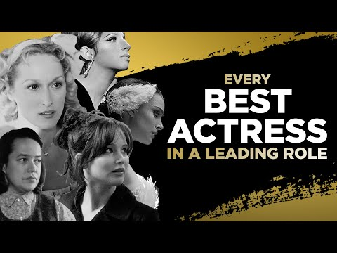 Every Best Actress Oscar Winner