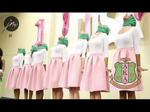 The Omicron Tau Chapter of Alpha Kappa Alpha Sorority Inc. Presents: 8 UnshAKAble IVIES (Fall '16)
