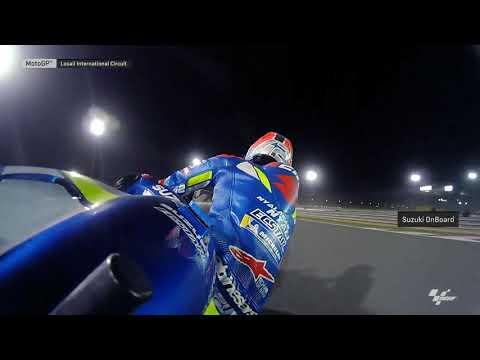 Suzuki Ecstar OnBoard: VisitQatar Grand Prix