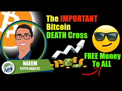 The IMPORTANT Bitcoin DEATH-Cross | FREE Money To ALL Americans | Global Recession Effects