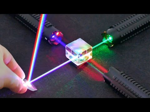 5 EXPERIMENTS WITH LASERS THAT WILL BLOW YOUR MIND !!