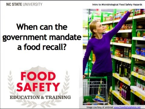 Food Recalls and the Food Safety Modernization Act