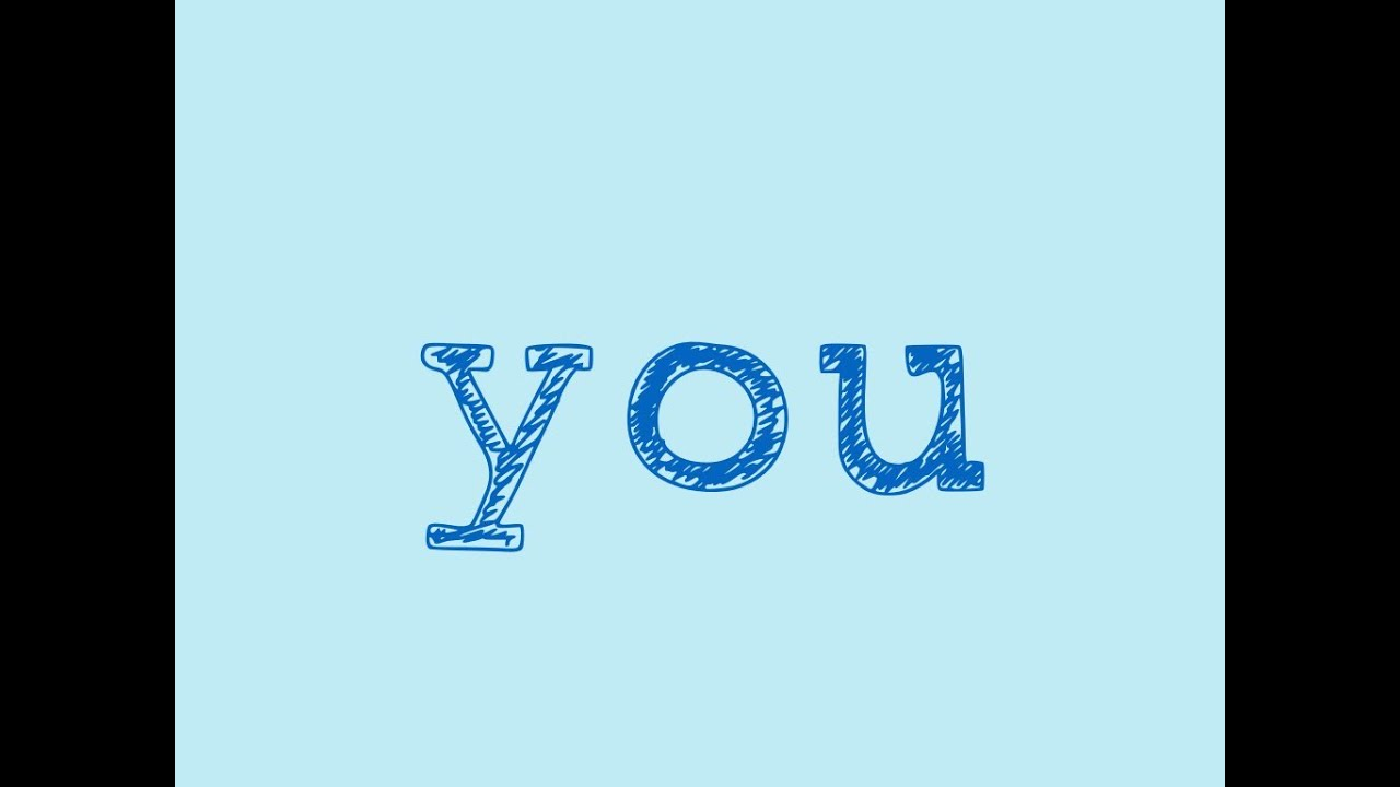 "Image result for images of the word ""you"""