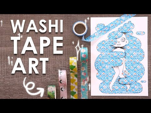 Creating ART With TAPE?!