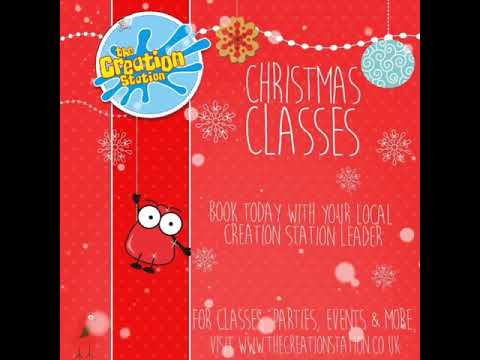 Christmas Classes with The Creation Station