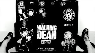 The Walking Dead Series 3 12-Mystery Mini/Blind Box Case Unboxing By STRLESS1