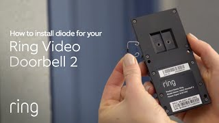 How to Install a Diode for Ring Video Doorbell 2 | Ring - YouTubeYouTube