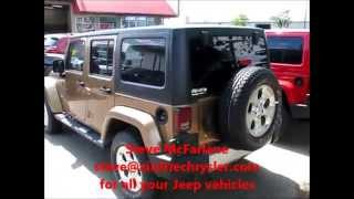 2015 Jeep Wrangler Sahara Copper Brown